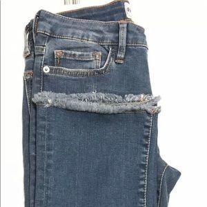 🆕Free People High Waist Straight Leg Crop Denim